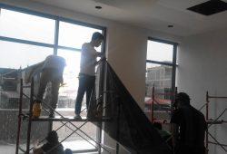 dán phim cách nhiệt SPECTRUM  cho toàn nhà  trung yên 1 tổng diện tích 68 m2